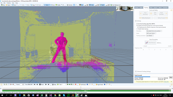 iPi Mocap Studio - New Fast Tracking for Kinect-2